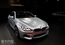底特律车展亮相 宝马M6 Gran Coupe发布