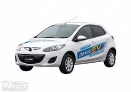 可续航200公里 马自达2电动车海外发布