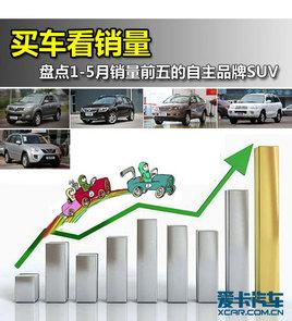 买车看销量 盘点销量前五的自主品牌SUV