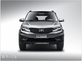 众泰T200上海车展上市 售4.5999万元起