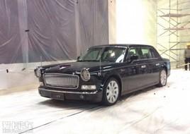 红旗L5现身北京车展展馆 即将正式上市