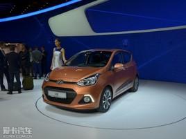 新款现代i10法兰克福车展发布 全新外观
