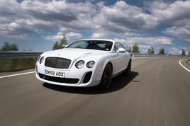 极速的新宠 试驾宾利欧陆Supersports