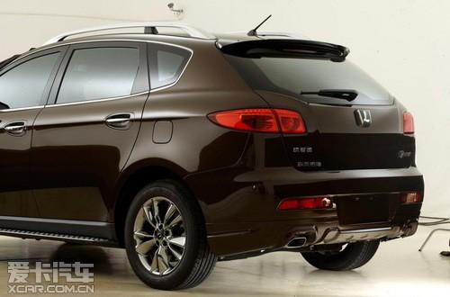 纳智捷大7 SUV即将限量推出超级锋芒版