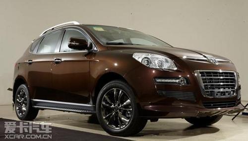 极致锋锐纳智捷大7 SUV超级锋芒版上市
