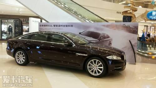 全新捷豹XJL AWD四驱版本闪耀时代广场