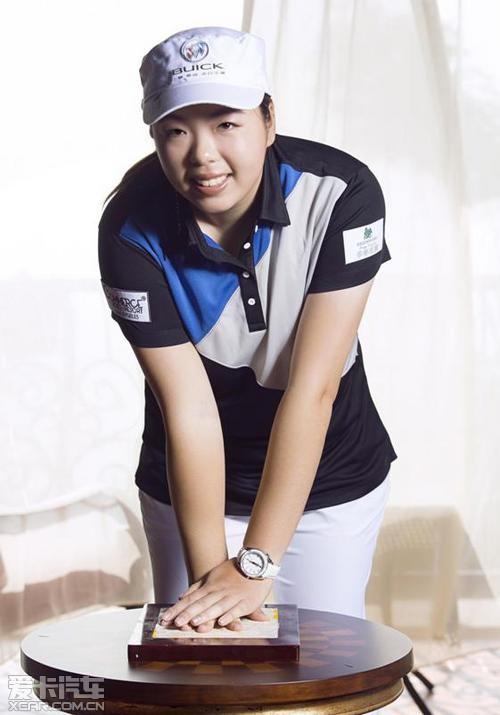 别克与中国女子高尔夫第一人携手前行
