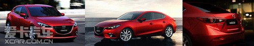 马上有范 全新Mazda3设计比肩豪华车