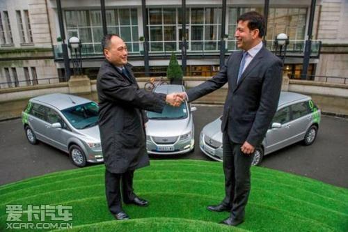 响应伦敦市长号召 比亚迪零排放出租车