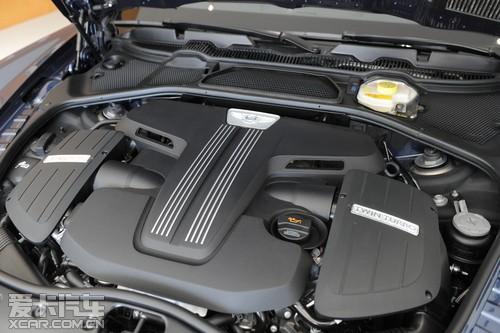 宾利新飞驰V8 奢华登录宾利大连展厅