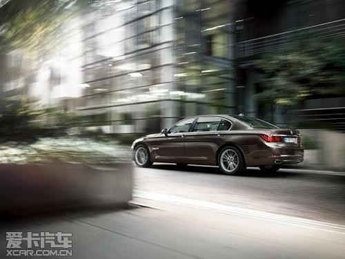 宝马新一代BMW 760Li驾驭世界不断向前