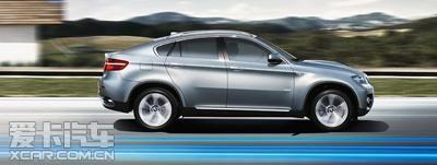 星之宝BMW X6高效混合动力 性能至上