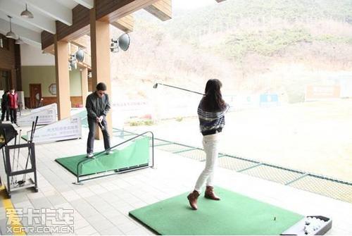 英菲尼迪车友高尔夫训练营第二季开杆