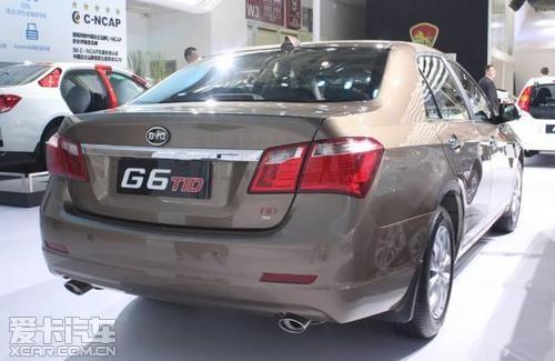比亚迪G6车展初印象 低调奢华有内涵