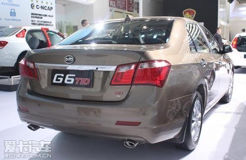 比亚迪G6车展初印象:低调奢华有内涵