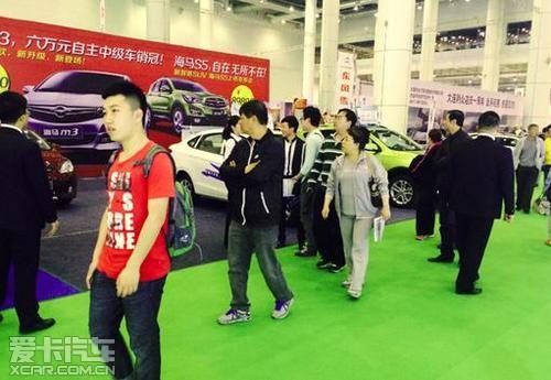 M3携手S5闪耀车展 海马申达总经理访谈