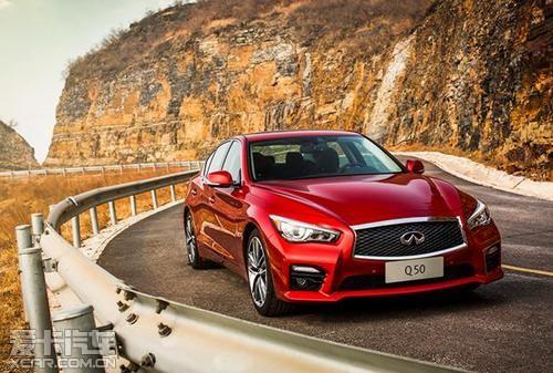 英菲尼迪汽车中国4月销量同比劲增149%