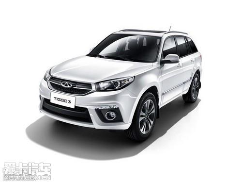 主打品质升级 奇瑞新瑞虎3亮相北京车展