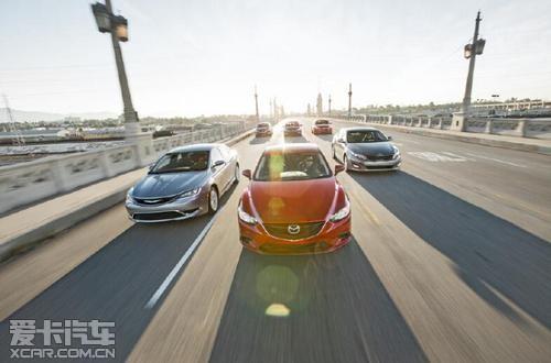 美国中级车权威测评 阿特兹获得第一名