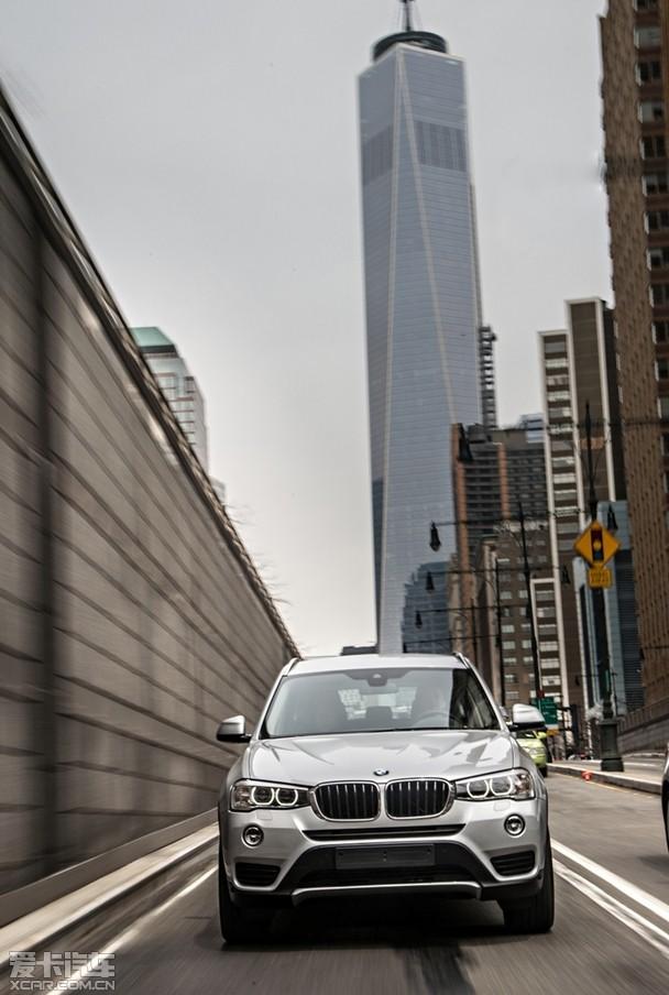 以全能应万变 新BMW X3出击中国市场