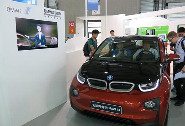 BMW i3智能终端亮相亚洲移动通信展会