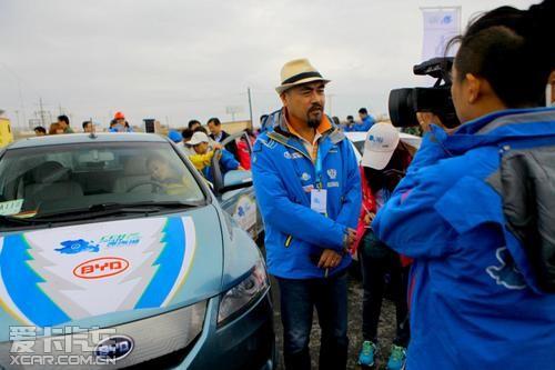 电动车环青海湖赛 比亚迪e6获四项大奖