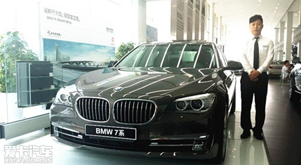 BMW7系以卓越的驾驶性能巩固核心竞争力