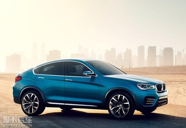 8月大连星之宝创新BMW X4即将澎湃上市