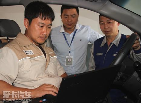 双龙工程师亲赴中国 售后强化教授支招