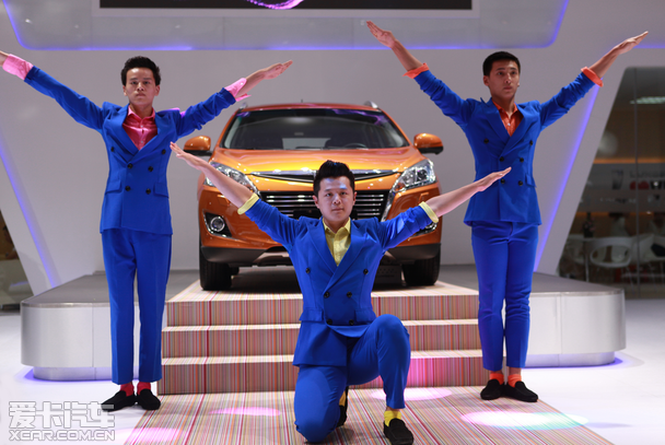 纳智捷全系智慧车型 亮相大连国际车展