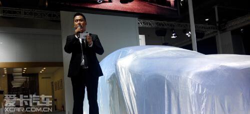 2014大连国际车展 沃尔沃展台正式开启