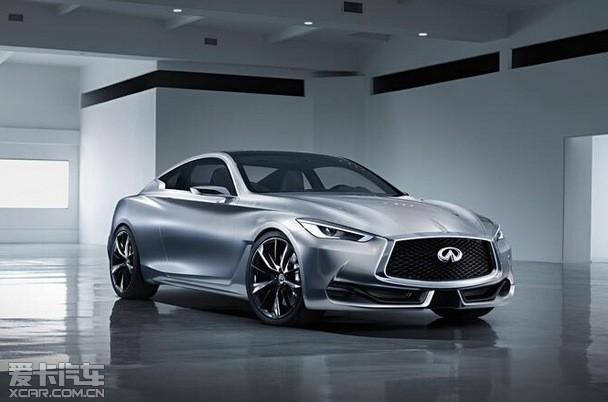 英菲尼迪Q60概念车将亮相北美国际车展