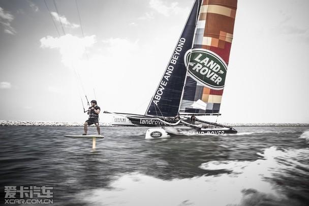 路虎赞助世界极限帆船系列赛 圆满落幕