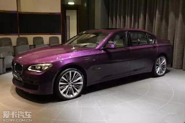 这台BMW 7系穿牛仔裤都不好意思坐进去
