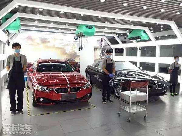 大连星之宝BMW精洗服务已开放欢迎体验