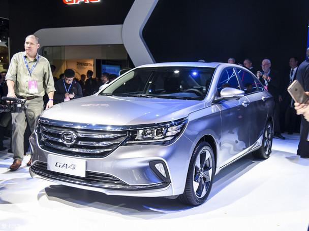广汽传祺GA4南京展车到店 新车接受预订