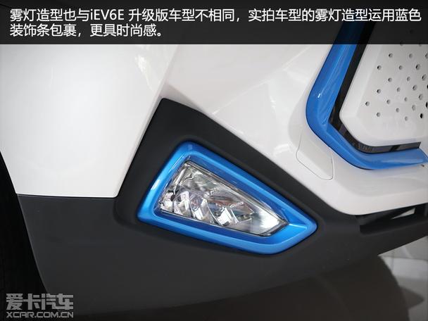 实拍江淮iEV6E 运动版