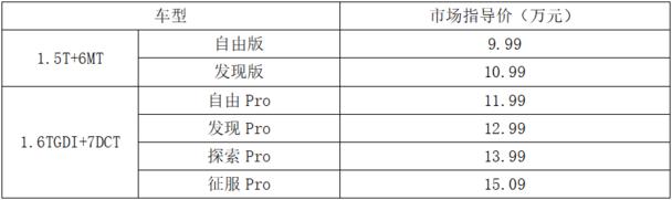 9.99-15.09万元,捷途X95夺目登场